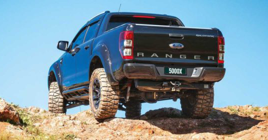 Ford Ranger with Rancho Lift Kit
