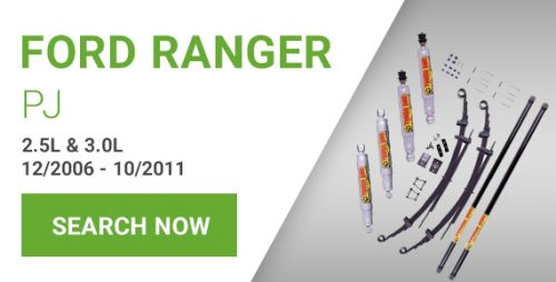 Ford Ranger Lift Kits for PJ Models