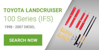 Lift Kit for Toyota Land Cruiser 100 Series Diesel