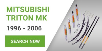 Lift Kits for Mitsubishi Triton MK models (1996 - 2006)