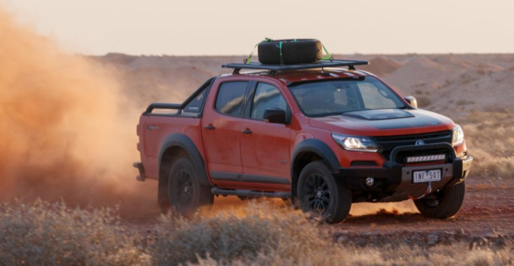 Holden Colorado with Lift Kit