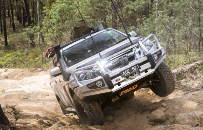 Isuzu D-Max with Lift Kit